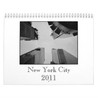 Calendario de New York City 2011