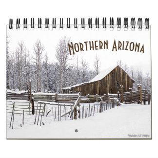 Calendario De Pared Arizona septentrional en fotografías