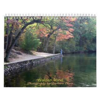 Calendario De Pared Charca 2018 de Walden: con citas