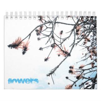 Calendario De Pared Flores mágicas