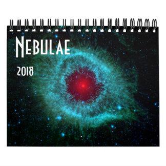Calendario De Pared NASA 2018 del universo de la astronomía de espacio