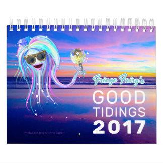 Calendario De Pared Noticias 2017 de la hada de la franja las buenas