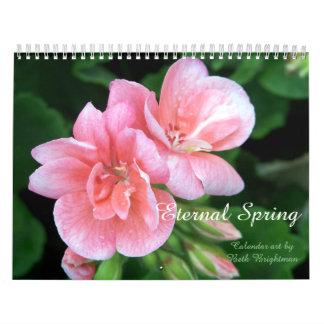 Calendario De Pared Primavera eterna