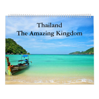 Calendario De Pared Tailandia - el reino asombroso