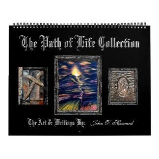 Calendario De Pared Trayectoria de la colección de la vida