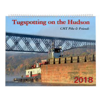 Calendario De Pared Tugspotting en el Hudson