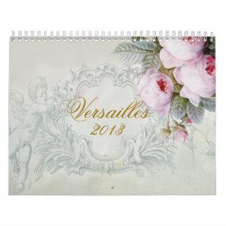 Calendario De Pared Versalles