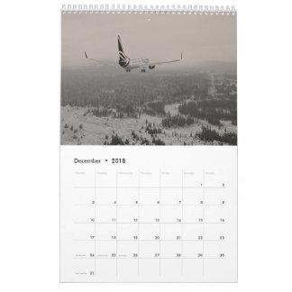 Calendario de Reino Unido 2018 de la mosca