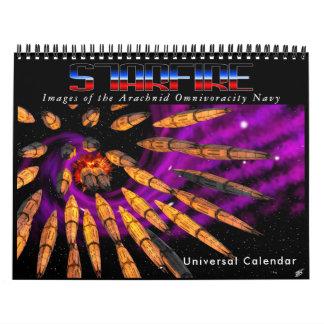 Calendario de Starfire: Marina de guerra de