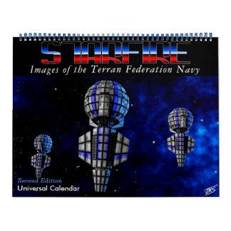 Calendario de Starfire: Marina de guerra de la