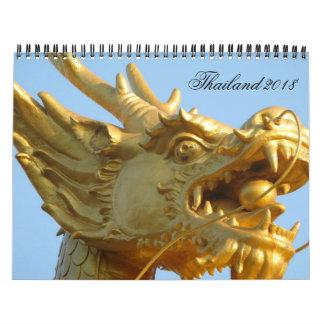 Calendario de Tailandia 2018