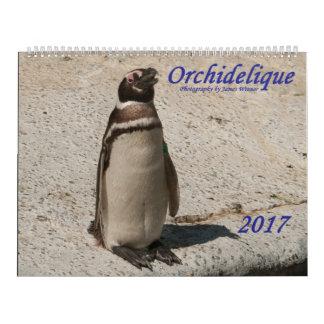 Calendario del animal de Orchidelique 2017