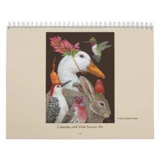 Calendario del arte del aserrador de Vicki para