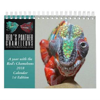 Calendario del camaleón