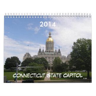 Calendario del capitolio 2014 del estado de