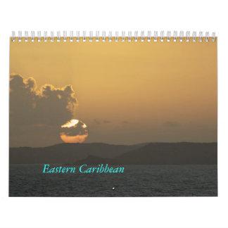 Calendario del Caribe del este