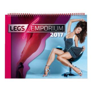 Calendario del emporio de 2017 piernas