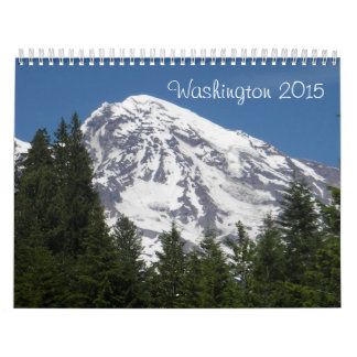 Calendario del estado que se lava