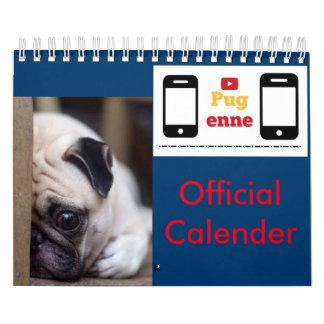 Calendario del funcionario de Pugenne