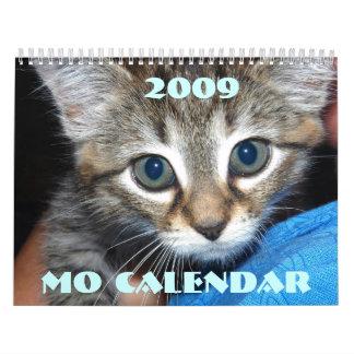calendario del MES, 2009