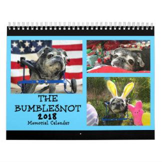 Calendario del monumento de Bumblesnot 2018