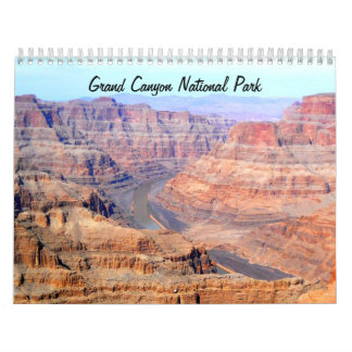 Calendario del parque nacional del Gran Cañón