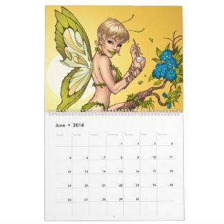 Calendario del Pin-para arriba de Río del Al