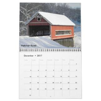 Calendario del puente cubierto