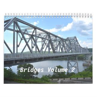 Calendario del volumen 2 de los puentes