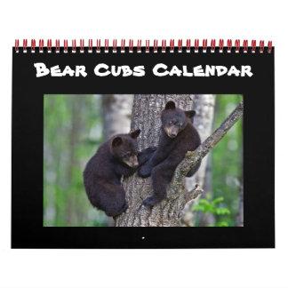 Calendario Destinos caseros del destino de Cub del bebé lindo