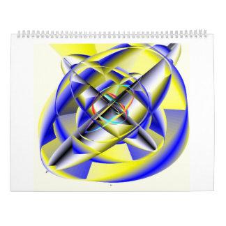 Calendario dimensional híper del resonador 2017