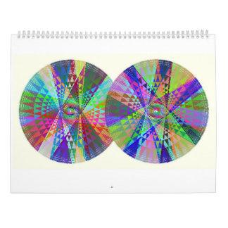 Calendario doble, triple, cuádruple del arco iris
