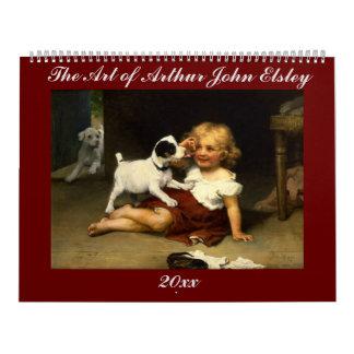 Calendario El arte de Arturo Juan Elsley