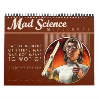 Calendario enojado de la ciencia
