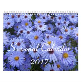 Calendario estacional 2017