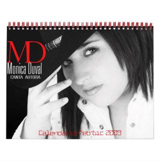 Calendario Febrero-Dic de 2009