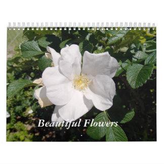 Calendario Flores hermosas