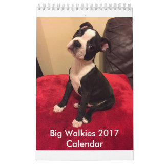Calendario grande 2017 de Walkies