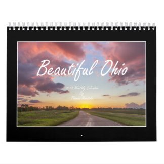 Calendario hermoso de Ohio 2018 de Thomas Minutolo