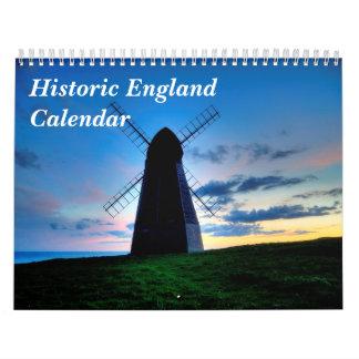 Calendario histórico de Inglaterra