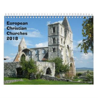 Calendario Iglesias cristianas europeas 2018