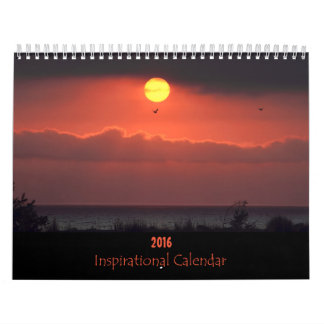 Calendario inspirado de la naturaleza 2016