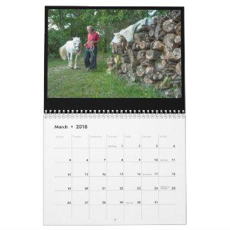 Calendario Madera de Umbrian