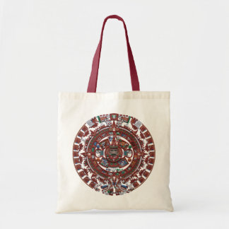 Calendario maya bolsa lienzo