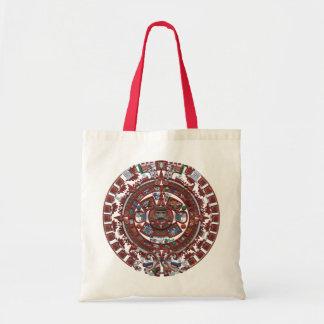 Calendario maya bolsa tela barata