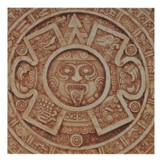Calendario maya cuadro