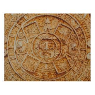 Calendario maya de dios cuadro