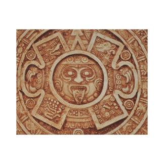Calendario maya lienzo