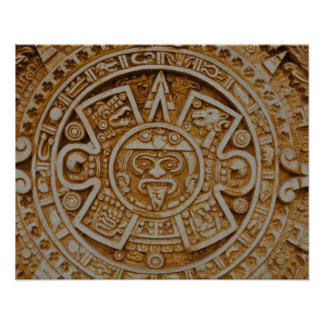 Calendario maya póster