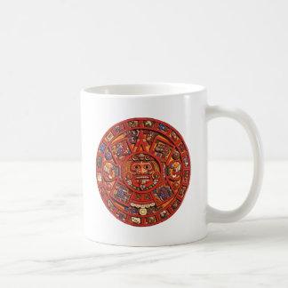 Calendario maya taza clásica